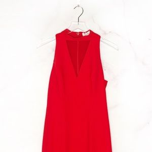 Amanda Uprichard Dresses - Amanda Uprichard Valentina Dress in Lipstick NWOT